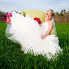 My favorite bridal pic :)
