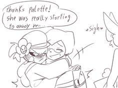 Goth: ¡Gracias Palette!Ella estaba empezando a molestarm
