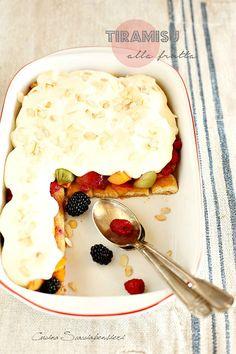 Cucina Scacciapensieri: Tiramisù alla frutta con uova pastorizzate