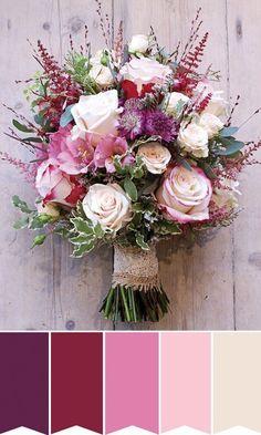 muito alto verão buquê de noiva rosa | w #weddingflowers