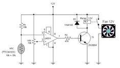 Automatic Fun Controller using NTC TTC3A103