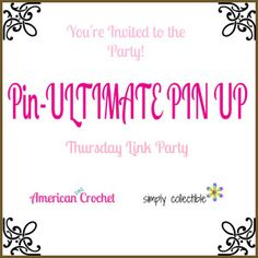 Pin-ULTIMATE PIN UP #1 Thursday Link Party
