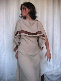 300 - Greek peplos (full-body) - 300 - Greek woman