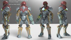 Metroid Prime 3 + Halo 4 male cross over suit - PED Suit