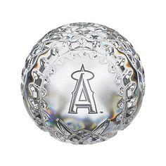 Waterford Los Angeles Angels of Anaheim Crystal Baseball