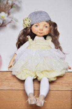 Купить А Я РОМАШКА - кукла, кукла ручной работы, кукла интерьерная, авторская кукла