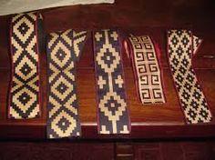 Risultati immagini per ponchos la pampa Inkle Weaving, Inkle Loom, Tablet Weaving, Lace Jewelry, Textile Jewelry, Jewellery, Native Design, Weaving Textiles, Woven Belt