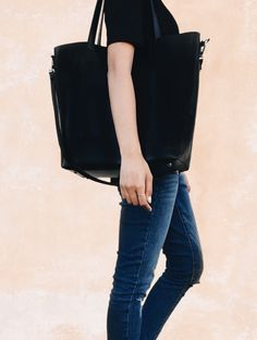 98cfb5a07208 Here s how to style a tote bag. Tote bags are a must-have for