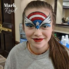 Face painting examples are very useful in the art of face painting. One of the greatest things about face painting examples, is that there are many reference Superhero Face Painting, Face Painting Unicorn, Face Painting Tips, Face Painting Tutorials, Belly Painting, Face Painting Designs, Painting For Kids, Paint Designs, Tole Painting