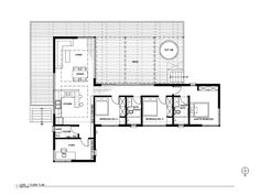 Floor plans of the Rondolino residence, a small prefab house by nottoscale