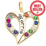 Passion Heart Pendant Mothers Pendant