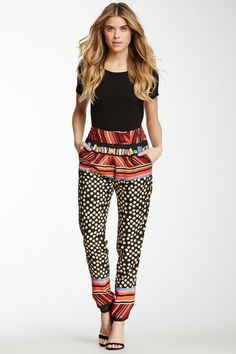 MM Couture Printed Polka Dot Pant on HauteLook
