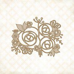 Blue Fern Studios: Rose Bouquet