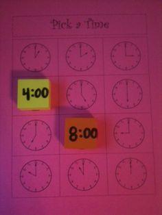 Time matching