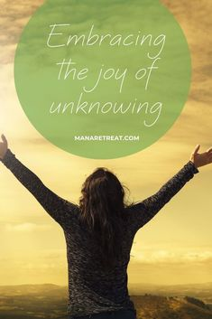 """With the fear of the unknown, comes the joy of freedom. Have a read of this article on our website that discusses """"Embracing the Joy of Unknowing"""" and how to lean into this discomfort to discover more and more light. Zen Master, Fear Of The Unknown, Self Image, True Nature, Pilgrimage, Our Life, Trauma, Illusions, Centre"""