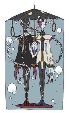 画像 Id Identity, Slayer Anime, Ship Art, Kawaii Cute, Cute Art, Joseph, Fan Art, Black And White, Drawings