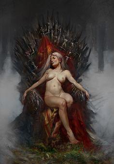 Khaleesi on Behance