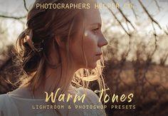 Warm Tones Wedding Lightroom Presets & Photoshop Filters for Wedding And Portrait Photographers