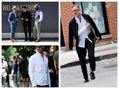 God Save the Queen and all: New York Fashion Week: Men's Street Style #streetstyle #nyfw #menstyle