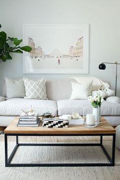 ¿Cómo decorar un salón en tonos blancos? Anímate con un plus de ligereza y luminosidad. ¡No te pierdas las claves para salones blancos!