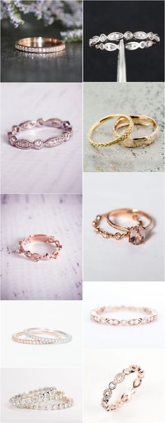 Coolest Wedding Bands for Women / http://www.himisspuff.com/wedding-bands-for-women/