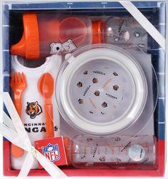 Cincinnati Bengals NFL Football Newborn Baby Necessities Gift Set
