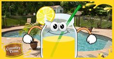 Check out my Never-Ending Summer card with Country Time Lemonade Starter. Create yours now! #NeverEndingSummer