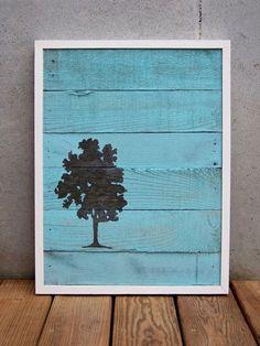 Картины на полотнах из дерева и картины из дерева.