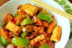 Tofu and Vegetables Stir Fry For the chilli garlic sauce only