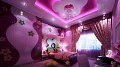 Kid Room: 20 Vibrant and Lively Kids Bedroom Designs- the best is definitely the barbie one!