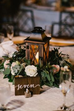lantern wreath winter wedding centerpieces ideas