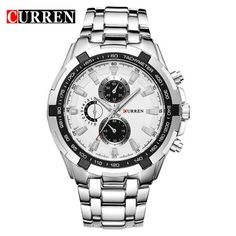 Brand Luxury full stainless steel Watch Men Business Casual quartz Watches Military Wristwatch waterproof Relogio New SALE