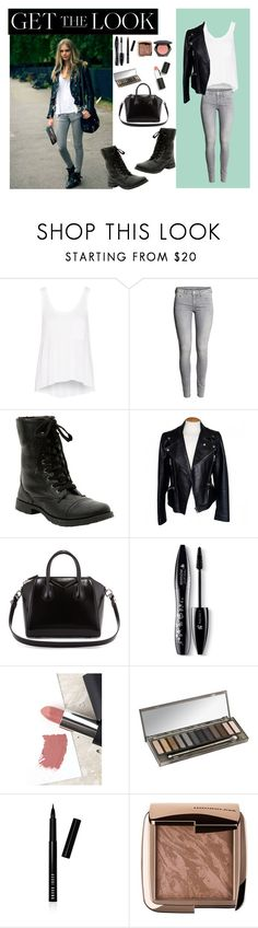 """""""Get the Look"""" by bayleigh10 ❤ liked on Polyvore featuring rag & bone, H&M, Hot Topic, Alexander McQueen, Givenchy, Lancôme, Sigma, Urban Decay, Bobbi Brown Cosmetics and Hourglass Cosmetics"""