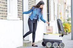 Robots harán entregas a domicilio en Europa