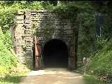 Elroy-Sparta trail - one of 3 tunnels on the 32 mile trail