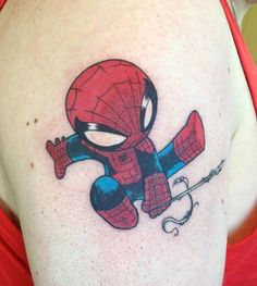 why do i like this Spider-Man Tattoo so much?