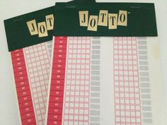 Jotto Score Pads Vintage Refill Sheets  Selchow  Righter Word