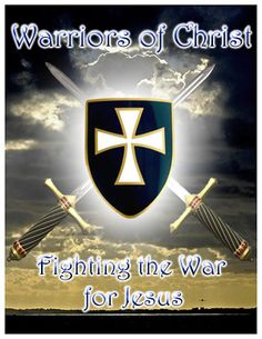Warriors of Christ! Angel Warrior, Prayer Warrior, Christian Warrior, Christian Life, Christian Artwork, Templer, Fight The Good Fight, Armor Of God, Godly Man