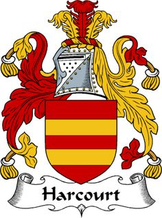 Harcourt Clan Coat of Arms