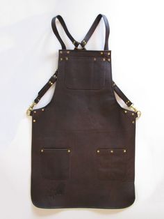 Ray Steels Leather Apron - Unlined