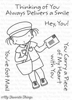 You've Got Mail - Pure Innocence Clear Stamp