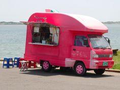 Small Pinky Street Coffee, Coffee Truck, Street Food, Recreational Vehicles, Bakery, Trucks, Cars, Autos, Camper