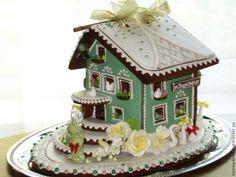 Купить Пряничный домик свадебный - оригинальный подарок, подарки на свадьбу, подарок на свадьбу, подарок девушке