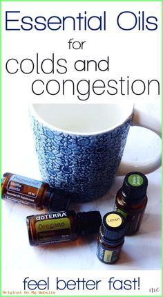 The best essential oils for colds and congestion, including how to use them. Cle… The best essential oils for colds and congestion, including how to use them. Clear up your cold quickly with essential oils! Essential Oils For Congestion, Oils For Sinus, Essential Oils For Colds, Essential Oil Uses, Doterra Congestion Blend, Helichrysum Essential Oil, Cold Remedies, Natural Remedies, Acne Remedies