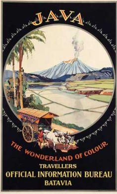 Java • The Wonderland of Colour ~ H.M. Burton