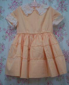 Little girls Celeste dress crinoline 1950s spring Easter dress vintage dress