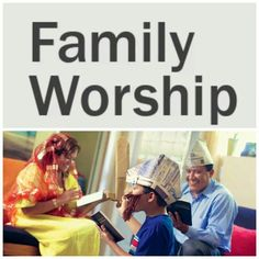 Great ideas for family worship. Family worship is always fun and creative!