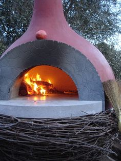 10 Outdoor Pizza Oven Design Ideas (LOVE all these ideas!) My honey has made some beautiful pizza ovens... Can't wait to sho him thses designs