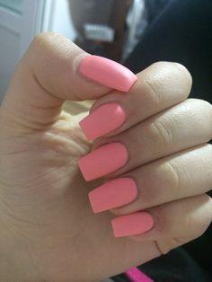 coral nails ❣️🛍💅🏻
