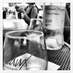Breaux Vineyards. Virginia Wine love.- Stemless glasses are a hit